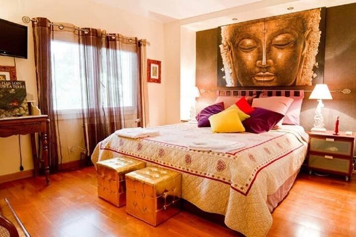 Chambre Namasté, lit 160
