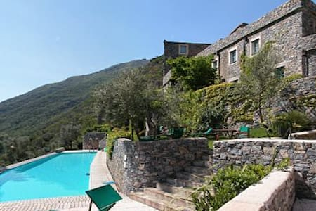 Beautiful ancient village with pool - Colletta