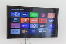 TV with Amazon Fire stick