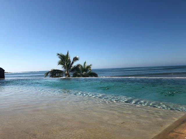 Casa Cuchara Saladita beachfront villas #1