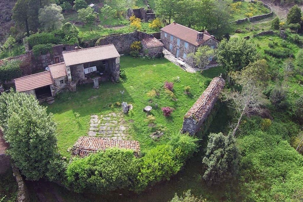 Casa rustica aldea loureiro casas de campo en alquiler - Casas rusticas galicia ...
