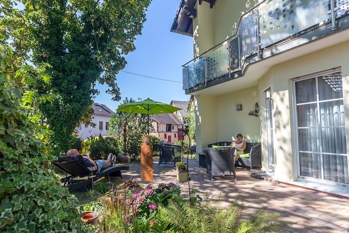Natur pur am Limes: Ferienwohnung Andrea