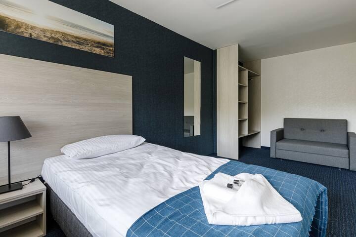 Sypialnia pokój pięcioosobowy