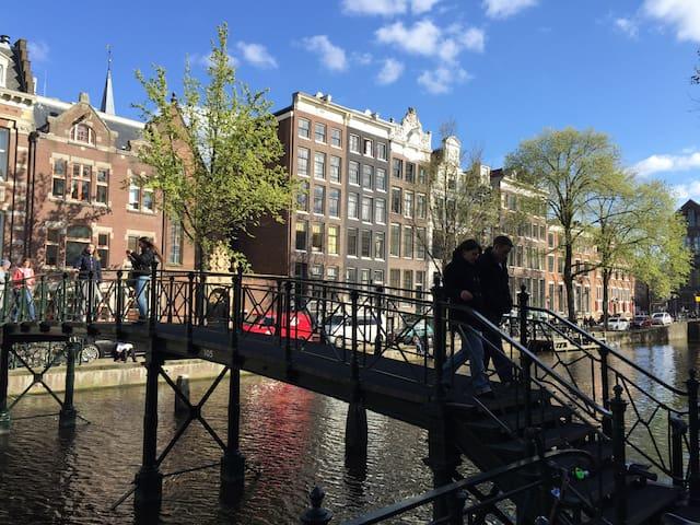 Cozy canal studio - Amsterdam - Apartament