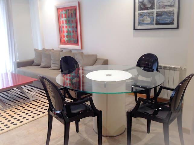 Precioso apartamento de diseño - Portonovo - Huoneisto
