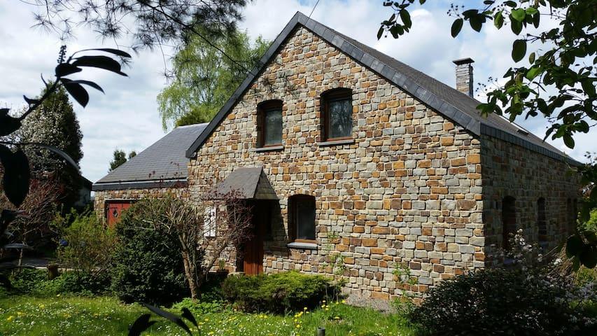 rustig gelegen vakantiehuis in Belgische Ardennen