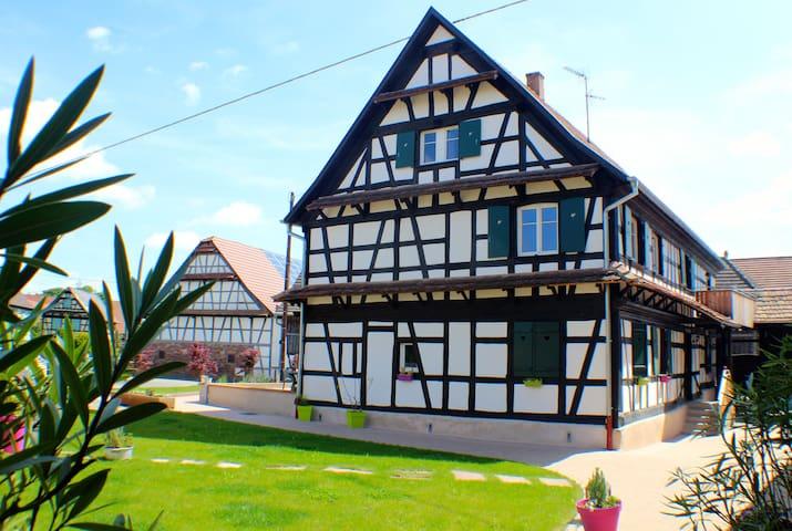Maison Alsacienne pour 6 personnes - Limersheim - Departamento