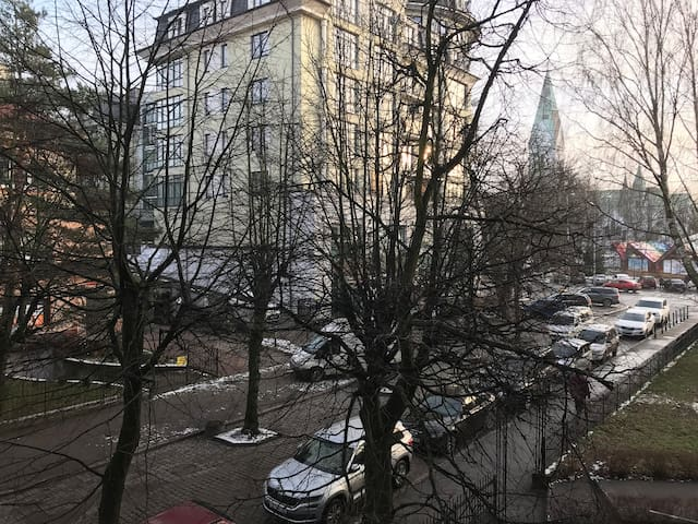 """Апартаменты """"Красная 3"""" историческое сердце города"""