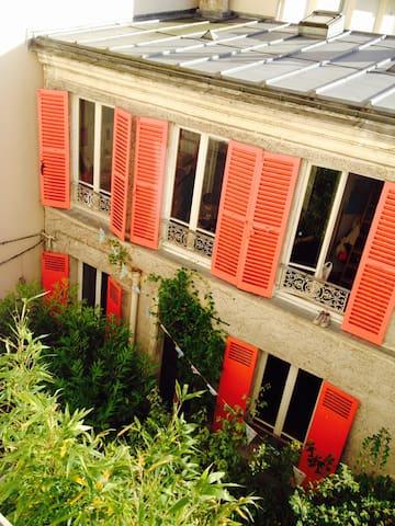 Maison atypique aux portes de Paris - Les Lilas - Casa