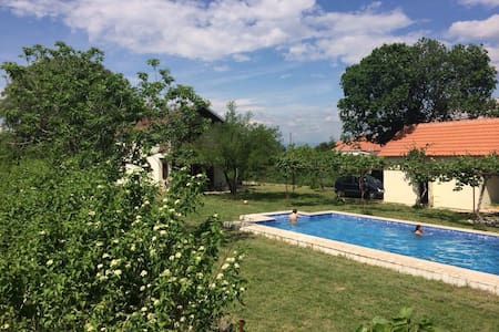 Villa Vinogradine With  Pool - Gradska opština Golubovci - Casa