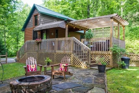 Cozy Getaway w/ Wi-Fi, Hot Tub, Firepit, Fireplace