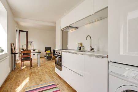 Cozy and central Frederiksb. flat  - Frederiksberg - Appartamento