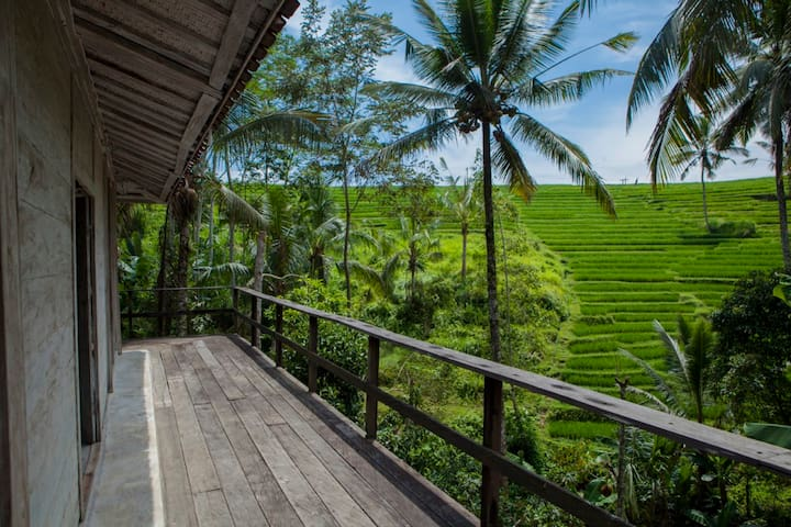 BeBaliStay, Spacious Eco Farm House - Ubud  - Casa