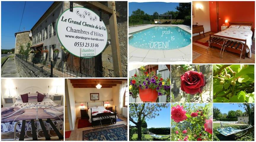 Le Grand Chemin de la Vie B & B  - Montcaret - Bed & Breakfast