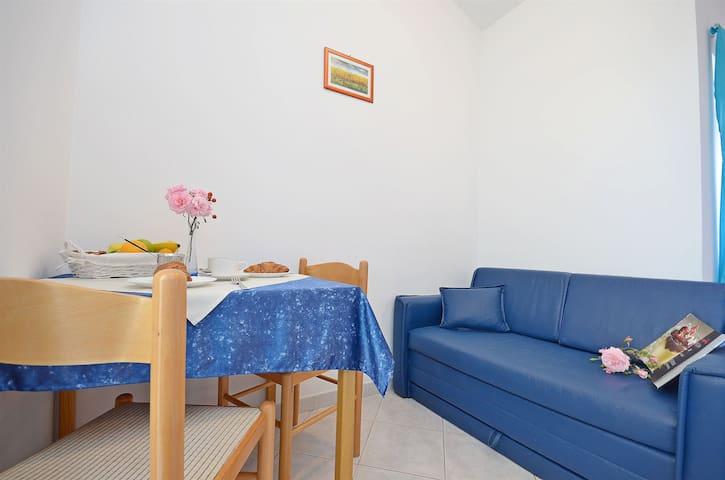 Studio Apartment, in Tribunj, Balcony
