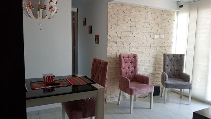 Hermoso apartamento ambiente acogedor