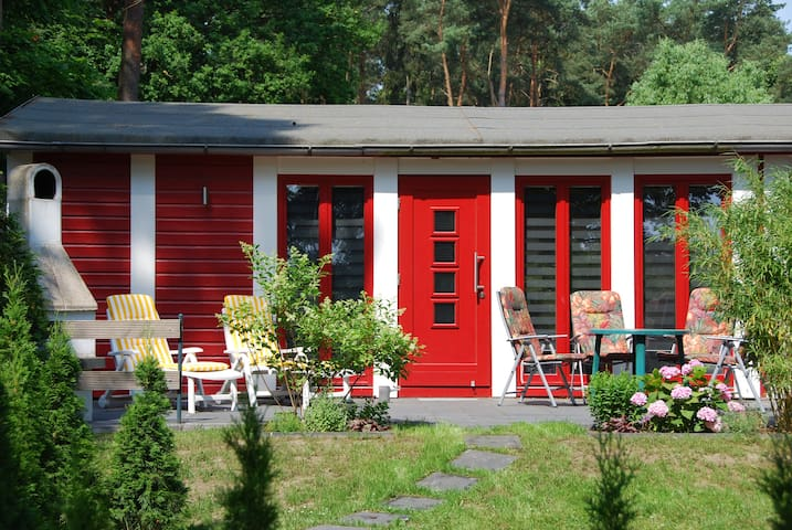 Haus mit schönem Seeblick + Boot - Krakow am See