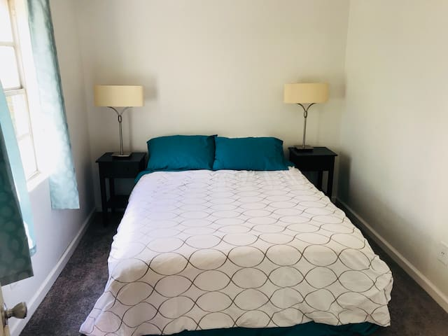 Master bedroom with BeautyRest mattress