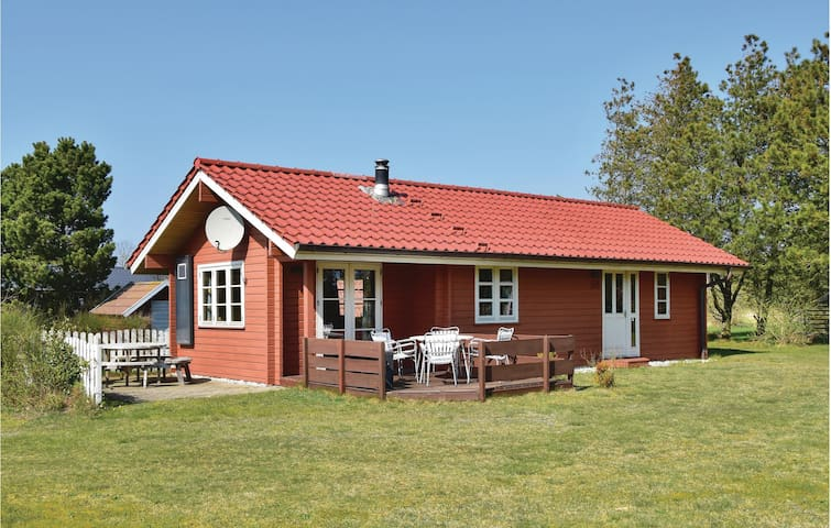 Holiday cottage with 2 bedrooms on 58m² in Skjern