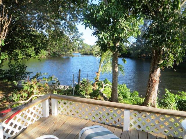 Paradise found on gorgeous lake in Naples - Napels - Chalet