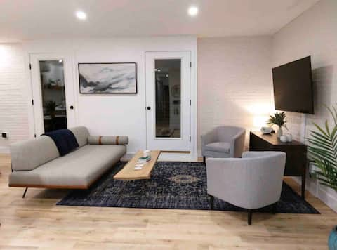 Modern stay in a brick building downtown Augusta