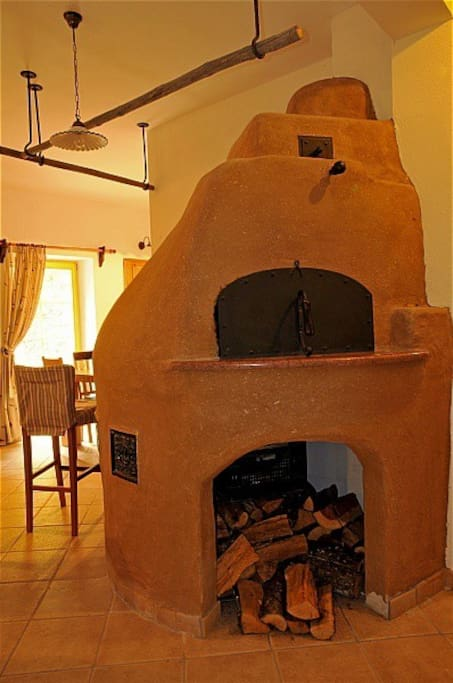 Fireplace - bread oven