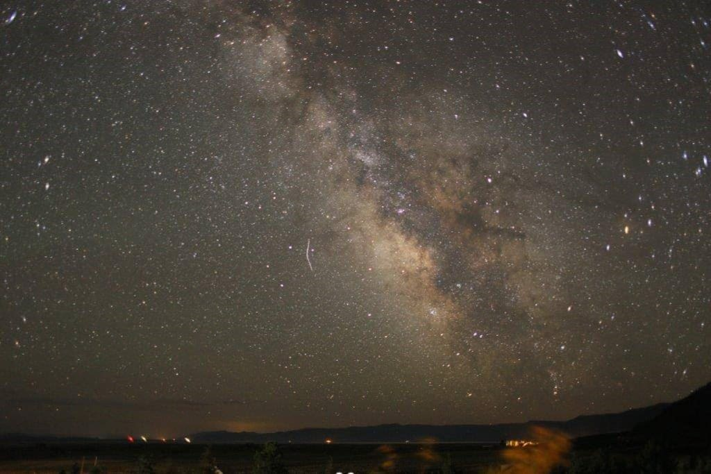 Milky Way from the porch