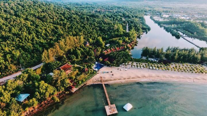Bungalow River View #1@Chez Carole Resort Phu Quoc