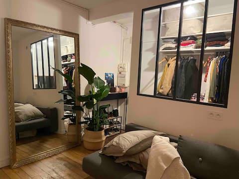 Charmant studio au cœur de paris
