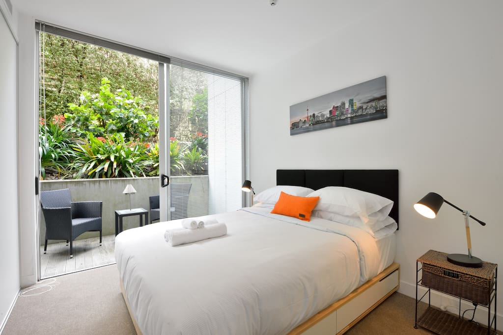 Lovely spacious bedroom with a bed that you'll never want to get out of!