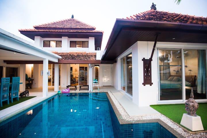 卡马拉海滩四卧泳池kamala 4bdrm pool villa