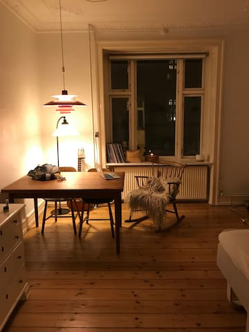 Cozy apartment in the lovely area - Nørrebro :)