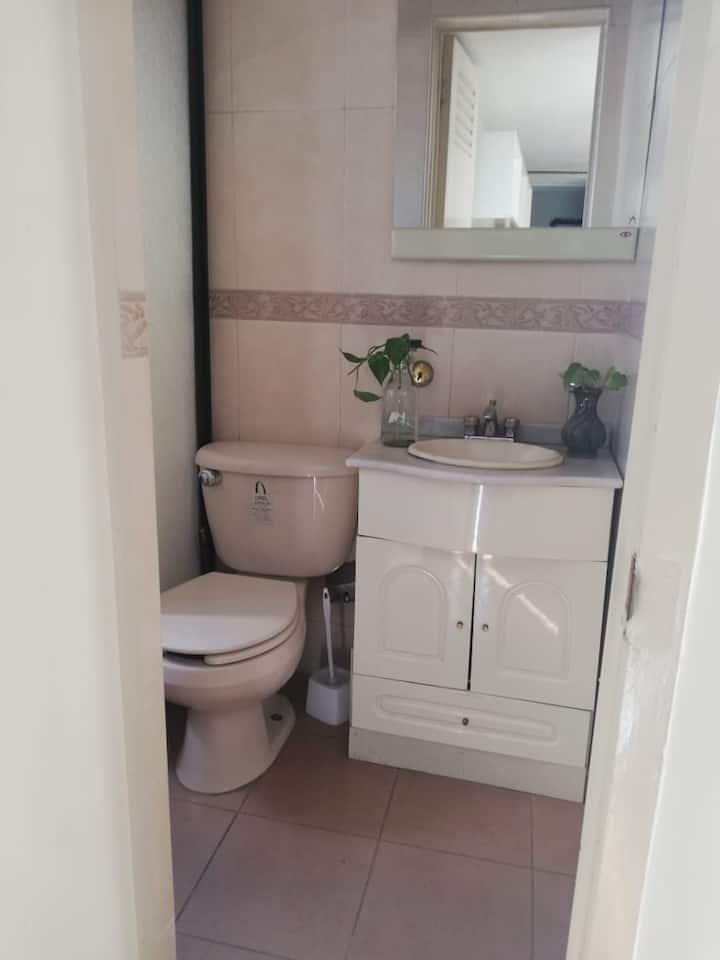 Echegaray (3), Naucalpan. Suite con baño incluido
