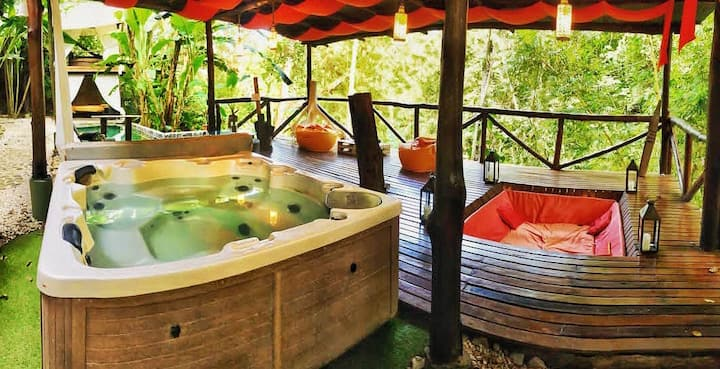 Canaima Chill House, Eco Chic Suite Loft #2A