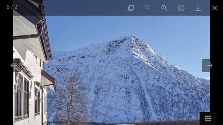 Flott feriehus med kort avstand til skitrekk