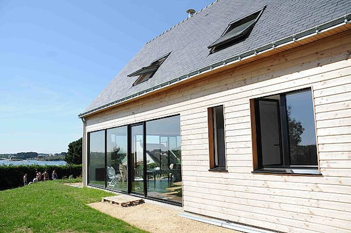 Bioclimatic seaview villa ria Étel - Belz - Rumah