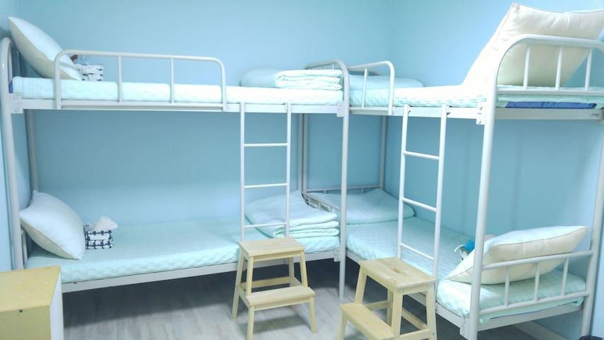 깨끗하고 편안한 강릉 모예게스트하우스 6인Clean & Cozy Moyeguesthouse