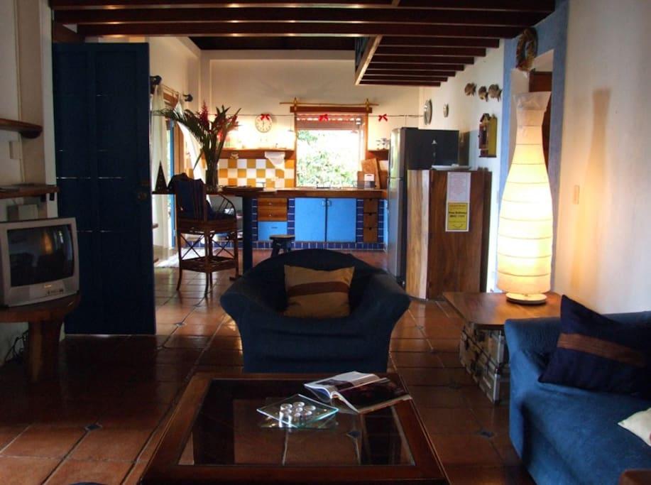 kithcken and dining room