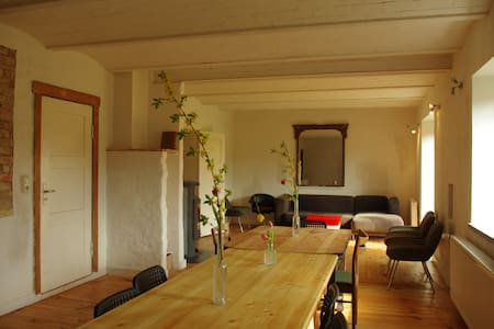 Gutshof Buberow- Seminarhaus (Loft) - Gransee - House