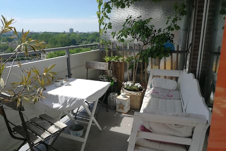 Heerlijk apartement met uitzicht in Amsterdam N