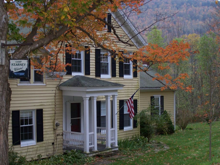 Farmhouse in Autumn.
