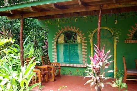 3 comfortable classic rooms for travelers trying to keep costs down while visiting the OSA and or Corcovado National Park. All with double bed, free luggage storage & free wifi surrounded by 4 acres of incredible flora and fauna. Enjoy