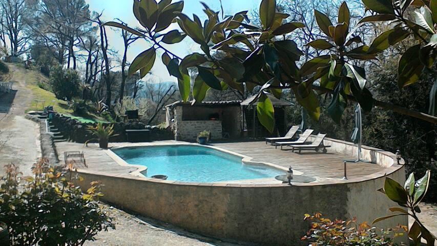 villa Moun Pantaï - Cabris - Huis
