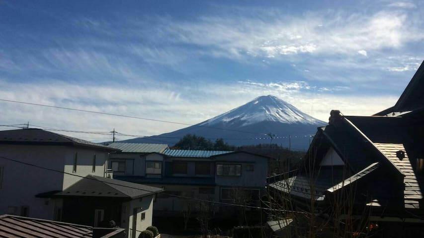 Mt.Fuji kawakushi  富士山河口湖 榻榻米式整租 - Minamitsuru District