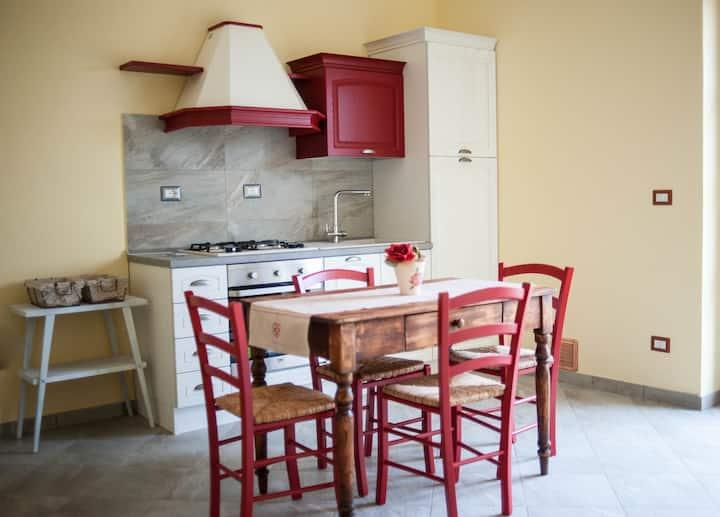 splendido appartamento nelle crete