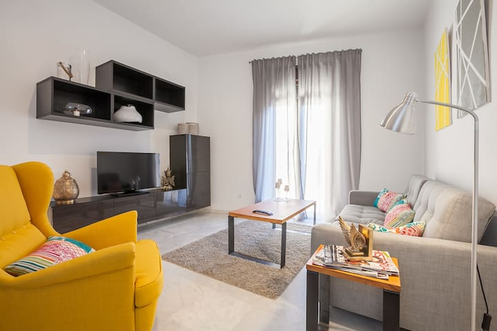 (WITH A/C) QUIET DOUBLE ROOM CENTER WIFI - Sevilla - Pis