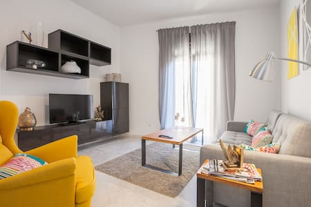 QUIET DOUBLE ROOM CENTER WIFI - Sevilla - Lejlighed