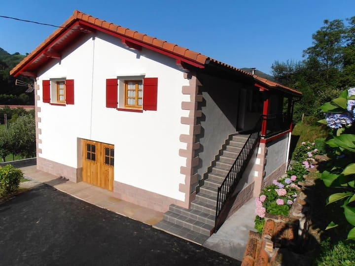 House with 3 bedrooms in Navarra, with wonderful mountain view and enclosed garden
