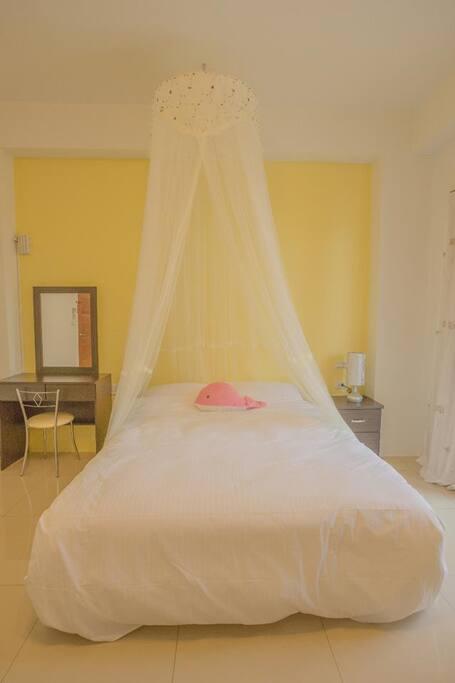 採用高級人體工學床墊,讓您睡得安心舒適,解除旅遊中的疲勞感!