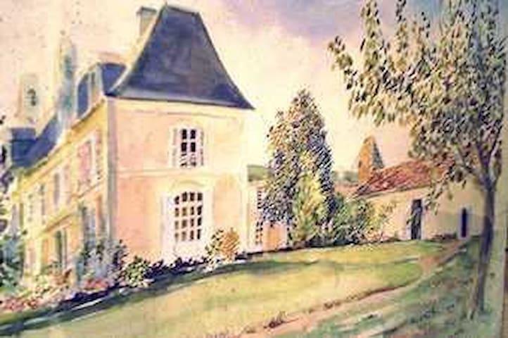 La chambre Bleue - Touret la Genetouze - House